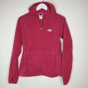 The North Face Hot Pink Fleece Polartek Jacket